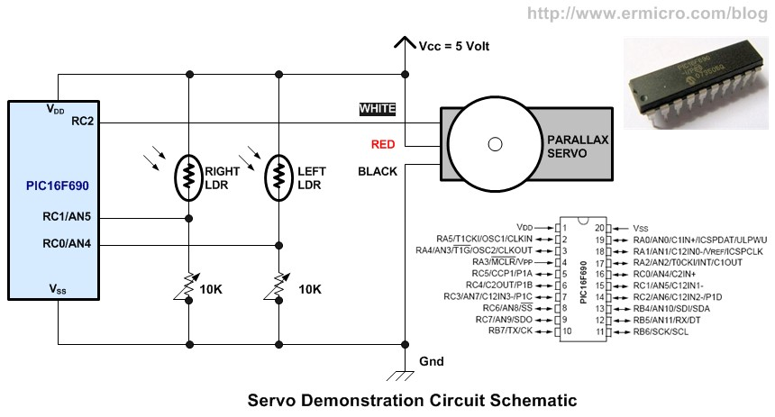 Sensational Basic Servo Motor Controlling With Microchip Pic Microcontroller Wiring Digital Resources Remcakbiperorg