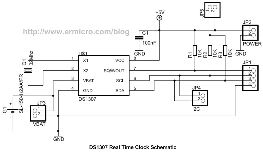 Using Maxim Ds1307 Real Time Clock With Atmel Avr Microcontroller