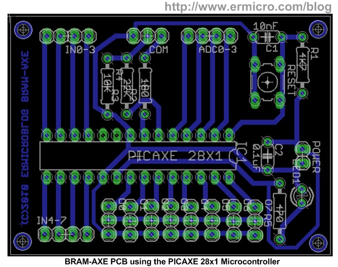 Make your own Microcontroller Printed Circuit Board (PCB) using the ...