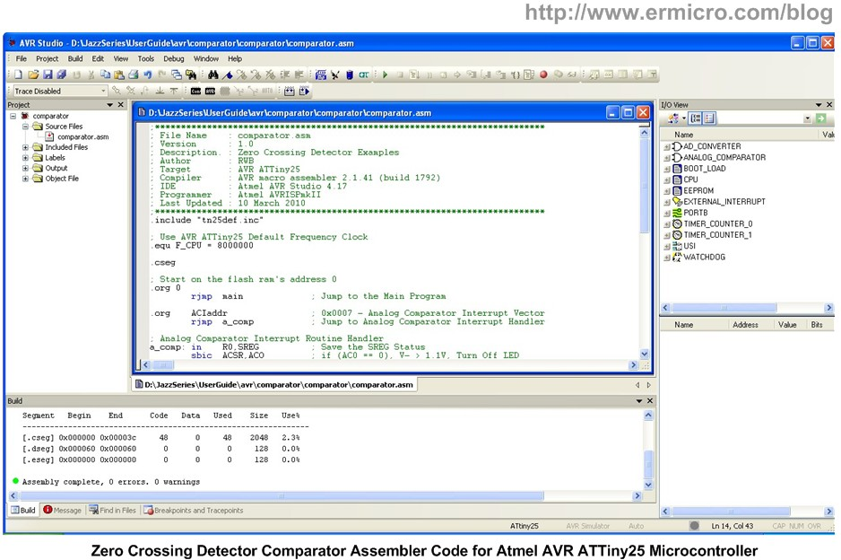 atmel language While installing atmel studio 7 (as7) is not required in order to learn inline assembly language programming, it has worthwhile advantages the ability to compile code for the arduino, run it inside the included simulator and immediately debug it will greatly speed your learning process.