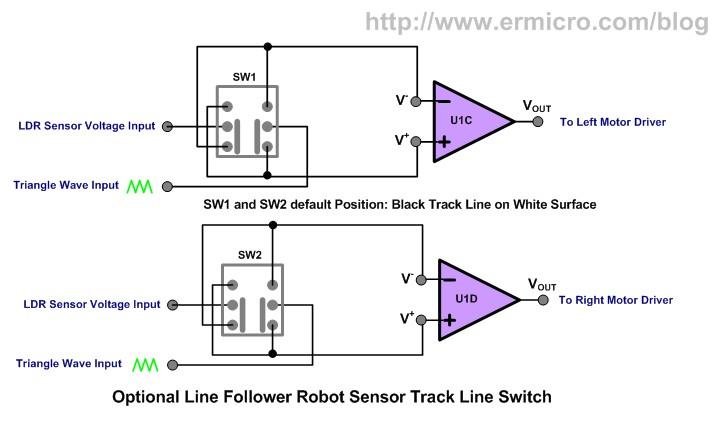 the lm324 quad op amp line follower robot with pulse width rh ermicro com lm324 quad op amp datasheet lm324 ic (low power quad op-amp)