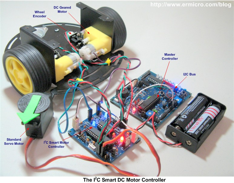 Microcontroller Based Dc Motor Control Project Topic